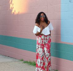 Style & Poise: Floral Palazzo's