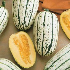 Delicata Organic Winter Squash beats butternut squash for ease of prep...variety of uses as well...