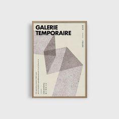 Studio Paradissi   Galerie Temporaire 16 Print   50cm x 70cm