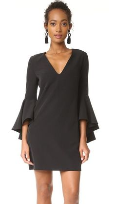 Milly Flare Sleeve Dress