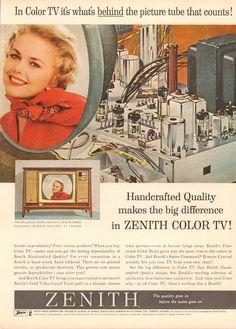 https://flic.kr/p/QZGDJG   1962 Zenith Color TV Advertisement Newsweek November 19 1962   1962 Zenith Color TV Advertisement Newsweek November 19 1962