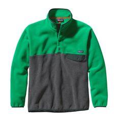 Patagonia M\'s Synchilla\u00AE Snap-T\u00AE Fleece Pullover - Tumble Green TMBG