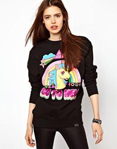 Kill Star Go To Hell Sweatshirt
