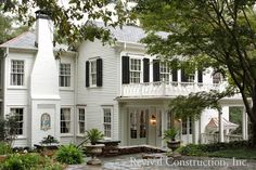 Rear View of Druid Hills Renovation - Stan Dixon and Revival Construction -Love this!