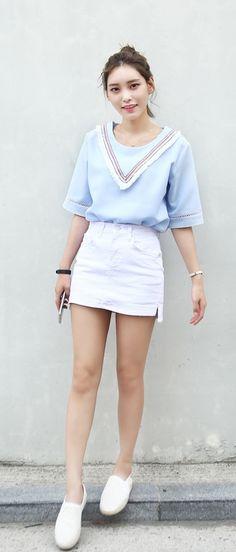 08da389b70021 8 Best Summer outfits korean images | Asian Fashion, Korean Fashion ...