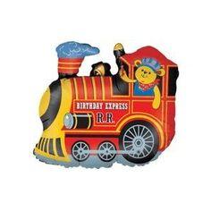 Birthday Express train balloon