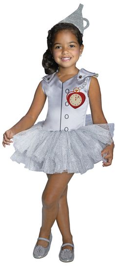 Wizard of Oz - Girls Tin Man Tutu Costume