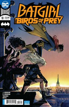Batgirl and the Birds of Prey #18 - Eco-Deadly (Issue)