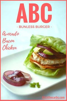 This is the world famous low-carb, ABC bunless burger. Come and see what all the fuss is about. Grain free, gluten free, sugar free. | ditchthecarbs.com via @ditchthecarbs