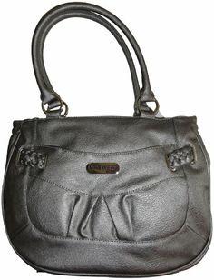 Women S Nine West Purse Handbag Braidington Bison Pewter