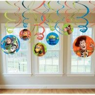 Toy Story Swirl Decorations Party Supplies, Party Themes Party Decorations, Tableware, Balloons and Party Favours or much more with discounted prices in Australia Toy Story Theme, Toy Story 3, Toy Story Party, Woody Birthday, Toy Story Birthday, 3rd Birthday, Birthday Ideas, Cumple Toy Story, Festa Toy Story