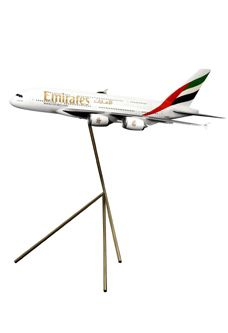 A380 1:50 Scale Solid Aircraft Model $3300