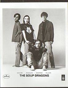 The Soup Dragons.  Ah, hello youth.