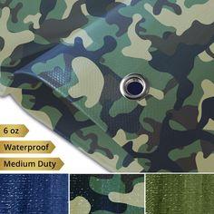 medium tarpaulin groundsheet boat cover 8/' x 12/' tarp waterproof cover winter