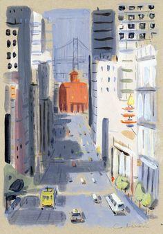 San Francisco Street // Dominique Corbasson