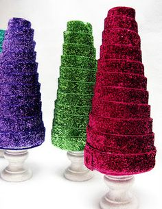 Como hacer un árbol navideño de tecnopor   DTODOMANUALIDADES...................