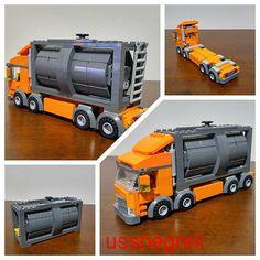 Container Bi-Truck!✌ | Orange Bi-Truck for Container Transpo… | Thiago Negreli | Flickr