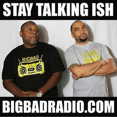 We're LIVE right now on the Stay Talking Ish radio show  Catch us Friday nights from 6-8pm EST Download the FREE #BigBadRadio app to tune in live or to replay any of our shows or stream anytime at BigBadRadio.com #oldschoolhiphop #artists #tgif #goodmusic #music #realhiphop #philly #radio #hiphop #listen #phillysupportphilly #ish #internetradio #staytalkingishradioshow #blackradio #blackcreatives #stay #talkingshit #international #tunein #tonight #talkradio #staytalkingishpodcast - #regrann
