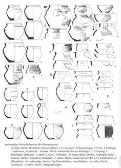 Late 7th-8th Century, Merovingian ware