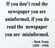 Mark Twain quote!
