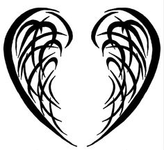 Tribal Wings 2 by Kavarria on DeviantArt Tribal Tattoos, Tatoos, Wing Tattoos, Tribal Wings, Wings Drawing, Silhouette Cameo Projects, Silhouette Vector, Applique Patterns, Future Tattoos