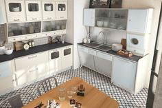Marchi Group - Kitchen Fifties Style - Saint Louis