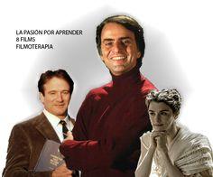 Fortalezas psicológicas: La pasión por aprender a través de 8 personajes - FILMOTERAPIA