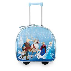 Frozen Light-Up Rolling Luggage | Disney Store