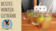 Leckeres Wintergetränk mit Ingwer, Pfefferminze, Limette und Honig