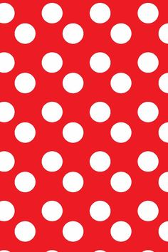 Birthday Wallpaper Polka Dots Ideas For 2019 Red And White Wallpaper, Red Wallpaper, Wallpaper Iphone Cute, Cute Wallpapers, Fabric Wallpaper, Birthday Background Wallpaper, Polka Dot Background, At Least, Creations
