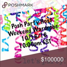 """I'M LOOKING FOR HOST PICKS! 😍 Hi ladies! I'm hosting my first Posh Party this weekend and I'm looking for host picks. Theme is """"Weekend Wardrobe""""! Please tag your closet below and let me know if you've never had a host pick before. Closets must be Posh compliant! Happy Poshing 💕💕💕           Please like and share, thanks! Tory Burch Bags"""