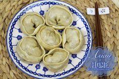 Kimchi Mandu Recipe : Korean Kimchi Dumplings - Asian at Home  Definitely a must try!!