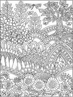 Creative Haven Entangled Forest Coloring Book is part of Animal coloring books - Printable Flower Coloring Pages, Garden Coloring Pages, Coloring Pages For Grown Ups, Quote Coloring Pages, Free Adult Coloring Pages, Pattern Coloring Pages, Mandala Coloring Pages, Colouring Pages, Coloring Books