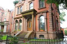 New York City Boroughs ~ Brooklyn | 447 Clinton Avenue, Clinton Hill, built circa 1850