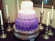 Awesome Wedding Cakes by Sam Keele Wedding Stuff, Dream Wedding, Wedding Ideas, Cheap Wedding Cakes, Ombre Cake, Lemon Cookies, Whoopie Pies, Simple Weddings, Buy Cheap