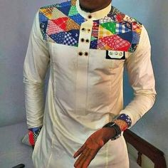 Mens Wear African fashion dashiki by FashionForSpecialMen on Etsy