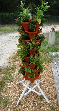Vertical Gardening Vegetable Tower