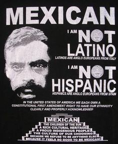 Nobody ever asked me if I wanted to be label hispanic