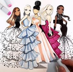#WeekendVibes #Partytime by @aaaronfavaloro #FashionIllustrations| Be Inspirational ❥|Mz. Manerz: Being well dressed is a beautiful form of confidence, happiness & politeness