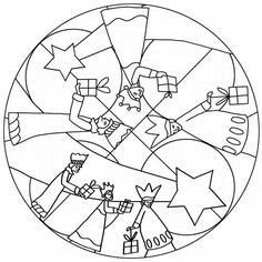 osserva i pin correlati Mandala Coloring, Colouring Pages, Printable Coloring Pages, Coloring Books, Noel Christmas, Christmas Colors, Christmas Mandala, Christmas Activities, Christmas Projects