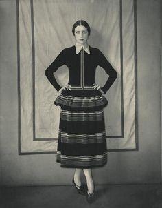 Model Dinarzade in a dress by Poiret, by Edward Steichen, c.1924