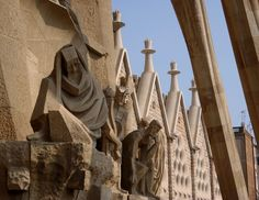 Gaudi's Church of the Sacred Family Barcelona, Spain - what an incredible cathedral...
