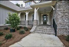 Types Of Bricks, Garage Doors, Sidewalk, Exterior, Outdoor Decor, House Ideas, Home Decor, Decoration Home, Room Decor
