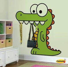Cocodrilo Wall Ladders, Character, Ceiling, Windows, Girls, Ideas, Stained Trim, Reptiles And Amphibians, Crocodiles