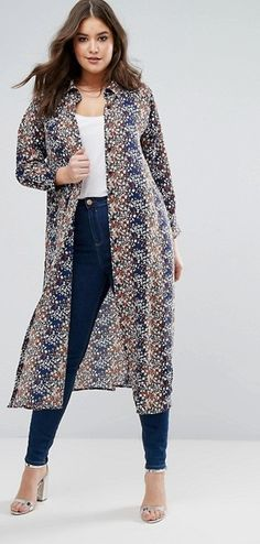 Plus Size Maxi Shirt