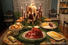 The Tablescaper: Quick Christmas Party