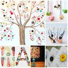 Image result for buttons craft