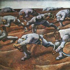 Albin Egger-Lienz, Den Namenlosen (Those Who Have Lost Their Names), 1914 World War One, First World, General Motors, Ww1 Art, Art Moderne, Grafik Design, Les Oeuvres, Painting & Drawing, Modern Art