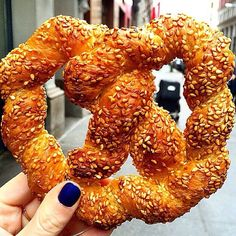 A crotzel? A pretzzant? Whatever you call it, this pretzel/croissant hybrid makes the perfect snack. And while it's not being served on airlines (yet), here are some midair treats we wouldn't mind munching on right now. Photo courtesy of phatgirlzzz on Instagram.