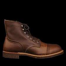 Red Wing Iron Ranger in Amber Harness Leather 8111 Angle1